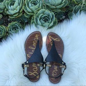 Sam Edelman black Greta sandal